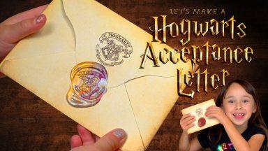 Go Jo - Make a Hogwarts Acceptance Letter